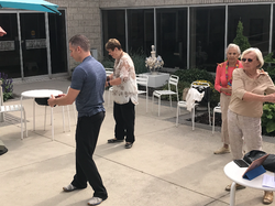 Qi Gong demo with Vera