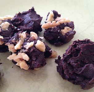 Home made healthy chocolate
