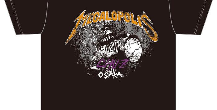 【MEGALOPOLIS-OSAKA】Tシャツ
