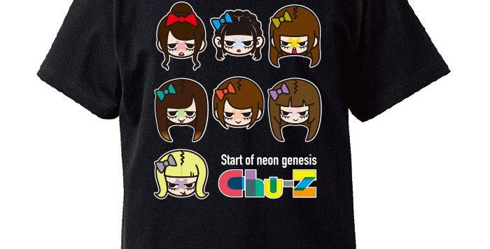 【Chu-Z】フルメンバー似顔絵Tシャツ