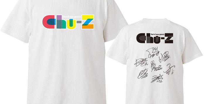 【Chu-Z】ロゴサイン入りTシャツ
