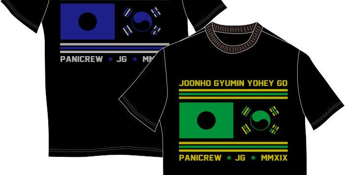 JG&PaniCrew Collaboration Tシャツ