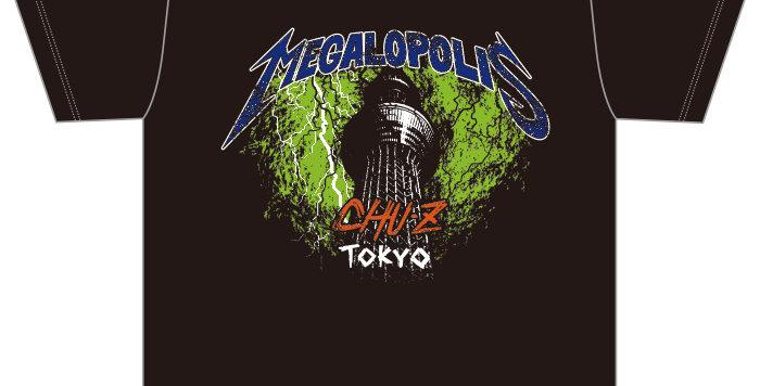 【MEGALOPOLIS-TOKYO】Tシャツ