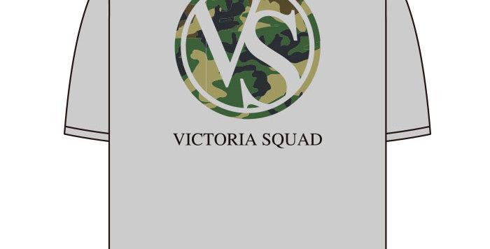 【VICTORIA SQUAD】Tシャツ-グレー