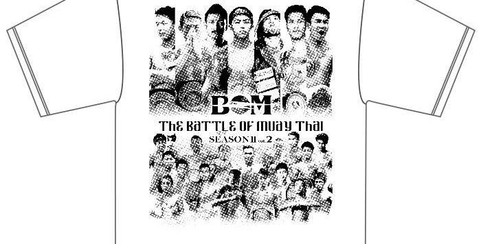 【BOM2-2】 The Battle Of Muay Thai SeasonⅡ vol.2 -WHITE