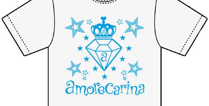 【アモレカリーナ】オリジナルTシャツ/ホワイト