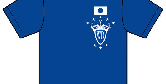 【WenDee】オリジナルTシャツ(BLUE)
