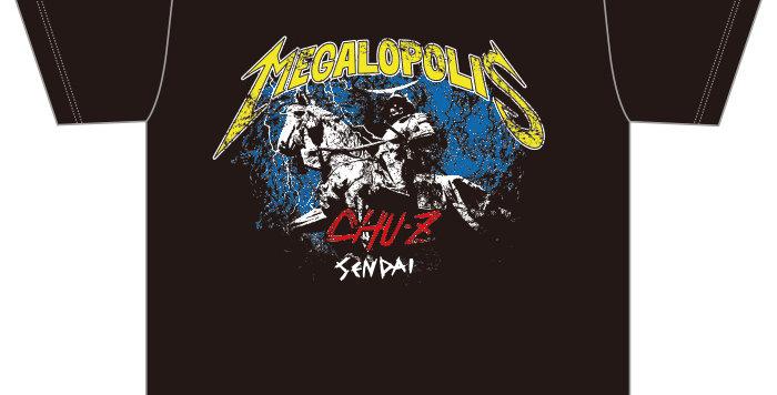 【MEGALOPOLIS-SENDAI】Tシャツ