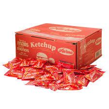 Ketchup 189 sachês Áurea