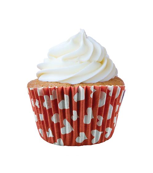 Forminha Greasepel Cupcake Coração 3 N.0  45 un. Mago