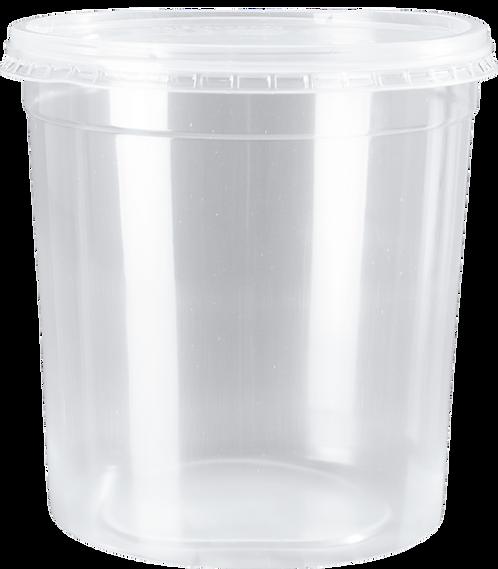 Kit PP 1.500ml CR c/25un ( KP-1.500 CR) Cristalcopo
