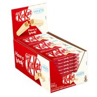 Chocolate Branco Kit Kat NESTLÉ 41,5g com 24 unidades
