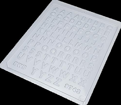 Forma de Acetato BWB Mini Alfabeto