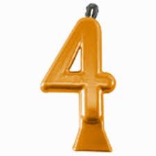 Vela Metallic Ouro Nº 4 Festcolor