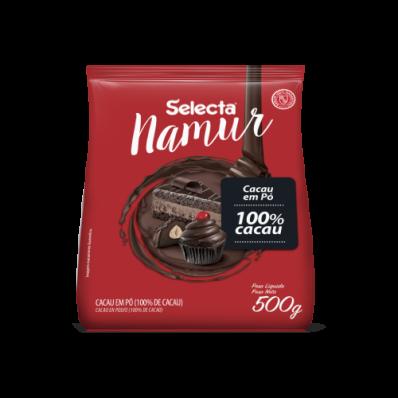 Cacau em Pó  100% Cacau 500g Namur Selecta