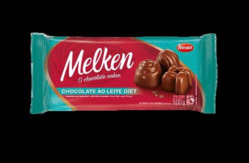 Chocolate Ao Leite Diet Melken Harald 500g