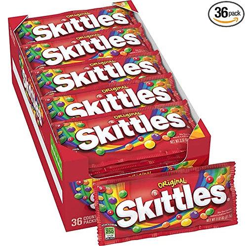Skittles Original Caixa com 14 unidades