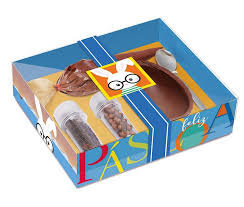 Caixa Kit Confeiteiro Receitas de Pascoa Azul 100g Carber