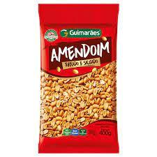 Amendoim Salgado 400g Guimarães