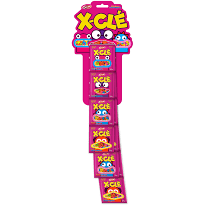 X-CLÉ 3,4g Tiras Tutti Frutti c/6un Docile