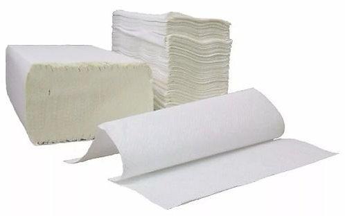 Papel Toalha Interfolhado Violeta Branco com 1000 un