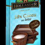 Chocolate  Hollander  38% Cacau ao Leite  90g Florestal