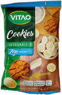 Cookies Zero Integral Banana 80g Vitao