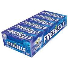 Drops Freegells Play Eucalipto Display com 12un Riclan