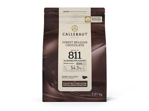 Chocolate Amargo N.811- 54,5% - Callebaut - 2,01KG