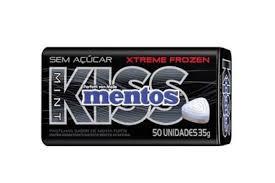 Mentos Kiss Menta Forte 35g Perfetti