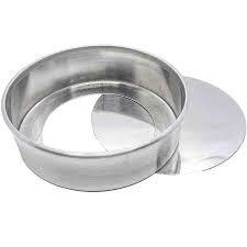 Forma Redonda Fundo Falso 15x5cm - Alumínio Caparroz