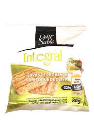 Biscoito Integral  Salgado Ervas de Provence 80g Petit Sable