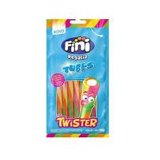 Bala de Gelatina Fini Tubes Twister 80g
