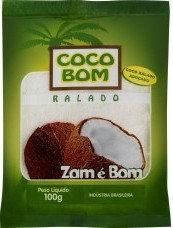 Coco Ralado Adoçado 100g  - Zam é Bom