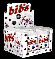 Bibs Passas Display com 18un de 40g cada Neugebauer