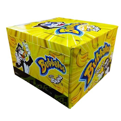 Bubbaloo Banana Display com 60 un