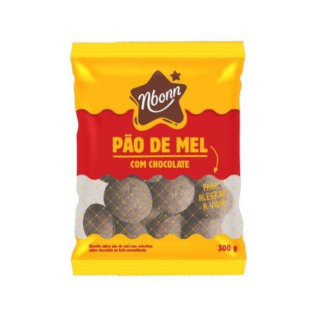 Pão de Mel c/Chocolate 300g Nboon
