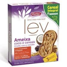 Biscoito Lev  81g Marilan - Leve 2 unidades do mesmo sabor e pague R$1,99 cada.