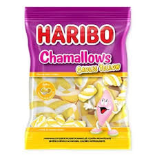 Marshmallow Chamallows Cables Yellow 250g Haribo