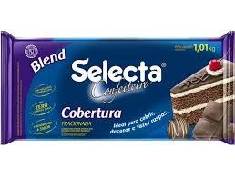 Cobertura Confeiteiro Chocolate Blend  1,010Kg Selecta