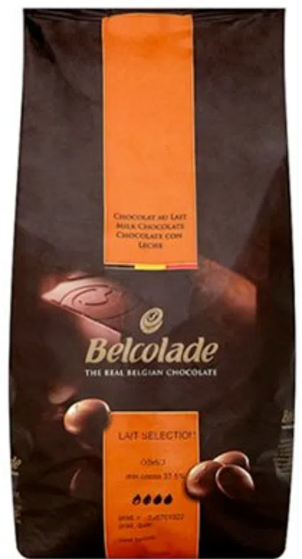 Chocolate Belga com 35% Cacau Belcolade Lait Selection 1 kg