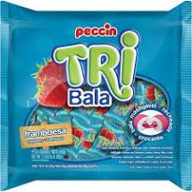 Bala Tribala Framboesa 500g Peccin
