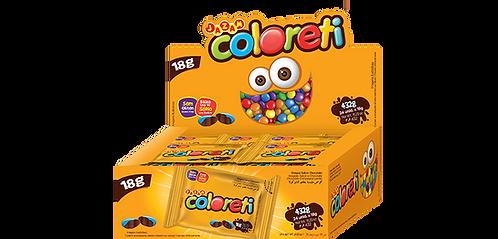 Coloreti Jazam Display com 24 unidades de 18g