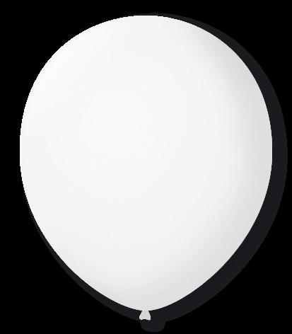 Balão  N°9 Cristal - Pacote com 50un - Balões São Roque