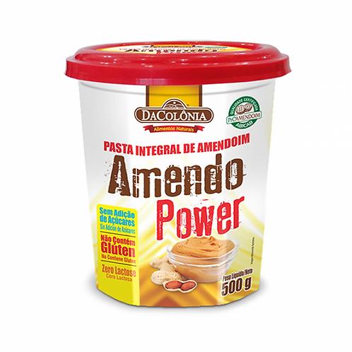 Pasta de Amendoim Tradicional AmendoPower Da Colônia 500g