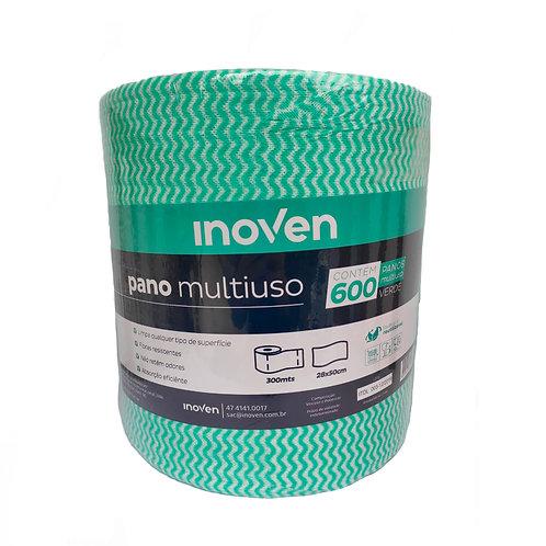 Pano Multiuso 20X240m Verde c/ 600un Inoven
