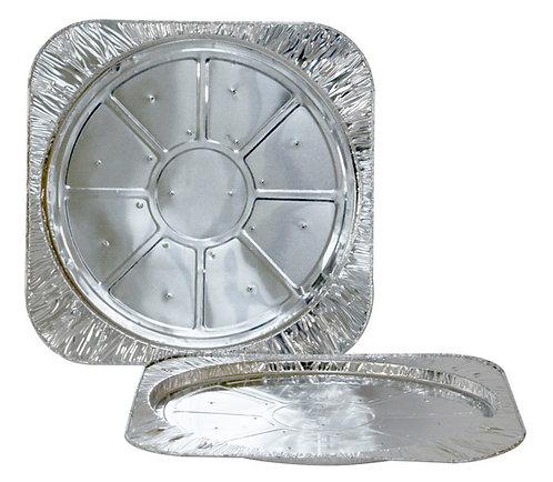 TP SP Bandeja de Alumínio Pizza Semi Pronta 600ml Térmica