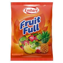 Bala Fruit Full Soprtido ABMM 660g Embaré