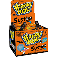 Chicle Happy Bol Sustoo Tutti-Frutti 140g Florestal