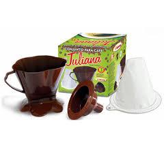 Conjunto para Café Juliana sem Embalagem  (2 PCS) Injetemp